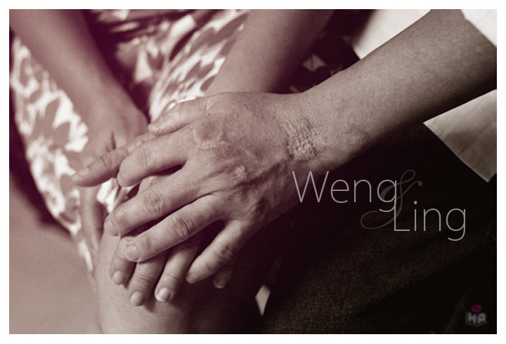 Pre-wedding for Weng & Ling
