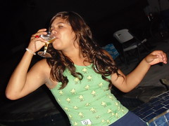 Tahlya takes a 'drank' to toast her bday