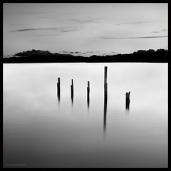Simpole (Mark Emirali) Tags: ocean sea bw cloud seascape water silhouette canon landscape mono air nz land simple 1022mm newzeland 30d copyrighted canon30d pleasedonotusewithoutmypermission maloe4 maloephoto maloephotography markemirali