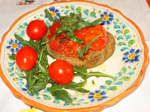 Frisella dry bread from Puglia