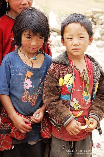 [西藏]林芝。純真的童顏