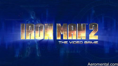 juego Iron Man 2 título