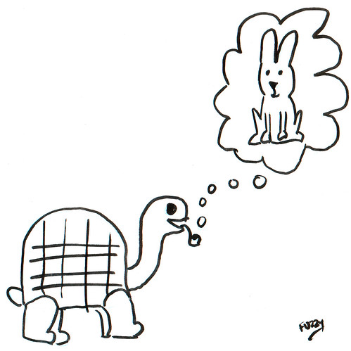 366 Cartoons - 189 - Tortoise and Pipe and Hare