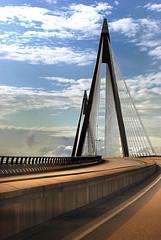 A Bridge (aha42   tehaha) Tags: bridge nikond60 sweden sverige sky overtheexcellence uddevallabron uddevallabridge nikoncapturenx2 a transportation road architecture nikkor70300mmf4556gafsvr tobox
