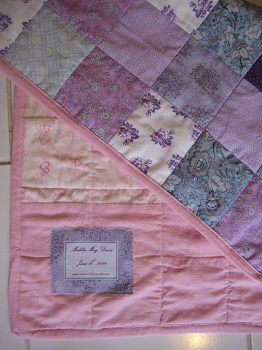 Quilt for Baby Mahlia