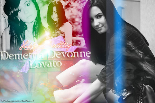 Happy Birthday Demi! by Icyprincess<3.