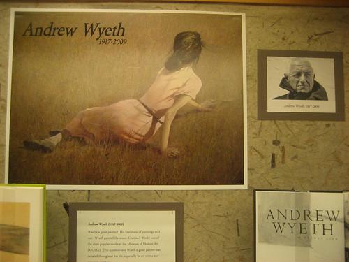 Andrew Wyeth exhibit