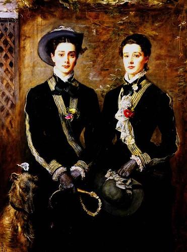 John Everett Millais, Twins (Grace and Kate Hoare)