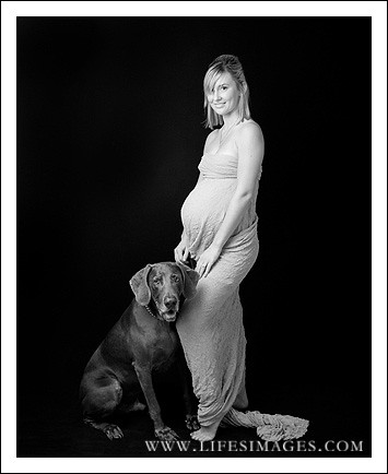 maternity and dog by you.