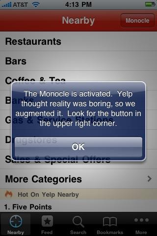 Yelp Monocle
