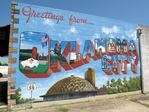 Oklahoma City: Postcard perfect by rutlo, on Flickr