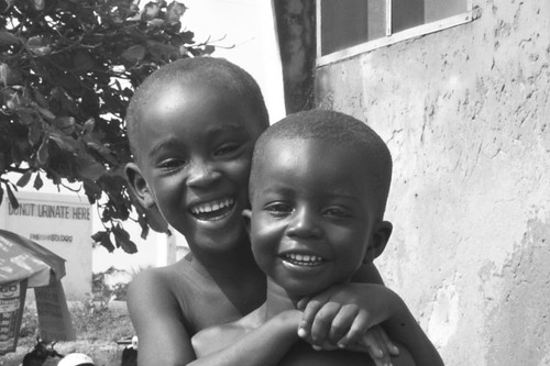Smily Ghanaian kids