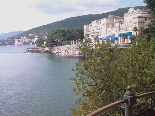 La costa d'Opatija...