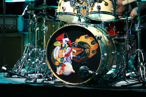 The Mars Volta Drum Kit by you.