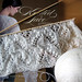 kniting of shawl