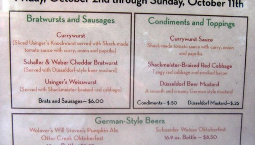Shacktoberfest Menu Top