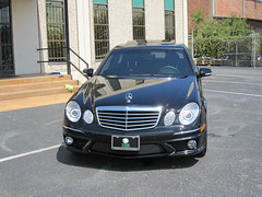 Armored Bulletproof 2009 Mercedes-Benz E63!