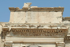 Text Detail (lets.book) Tags: turkey jamie 2009 ephesus seluk libraryofcelsus letsbook
