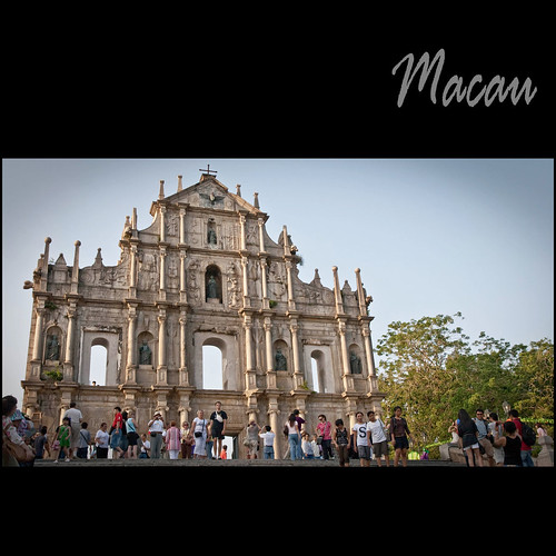 Macau :: The Ruins of St. Paul's