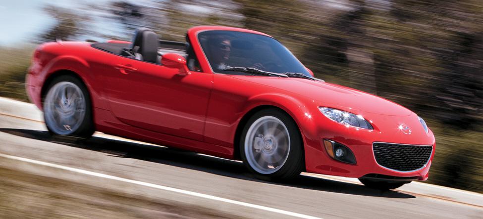 2010 Mazda MX-5 Miata Red Mica