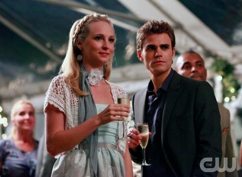 Caroline e Stefan