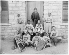 [African American baseball players from Morris...