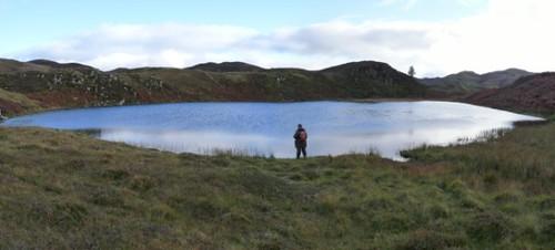 Loch na Curraigh. Kilmelford Hill Lochs.Copyright Brian Turner