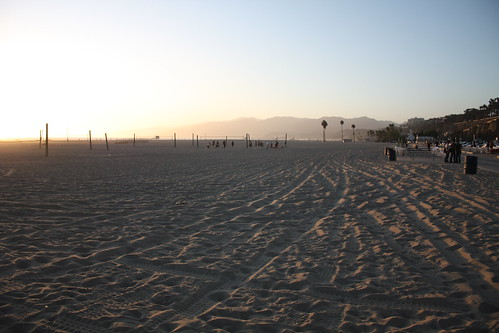 beach in santa monica