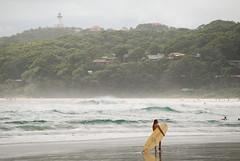 Byron Bay Beach (Daniele Sartori) Tags: ocean new travel sea lighthouse beach wales faro bay nikon surf mare pacific surfer board south wave australia viaggio spiaggia byronbay pacifico sud oceano onde biron tavola onda oceania galles nuovo surfista 5photosaday d80