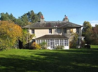 Inshriach House exterior