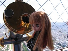 Butters up the Eiffel Tower