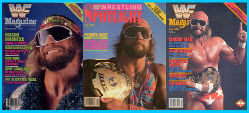 savage WWF magazines