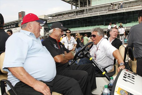 A.J. Foyt, Rick Mears, Mario Andretti