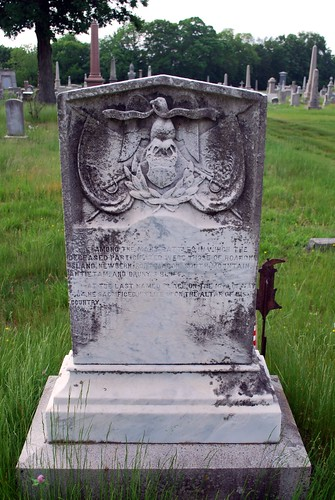 Grave of Civil War Capt. John McGall