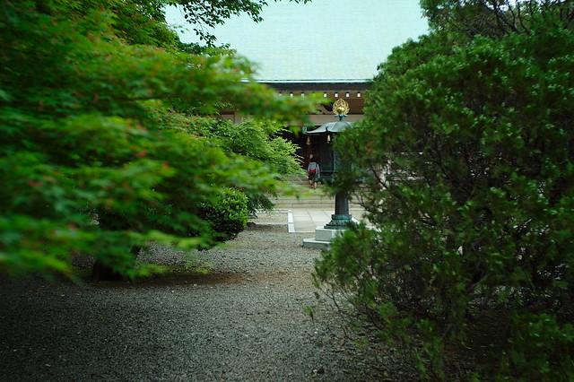 枝間の本殿