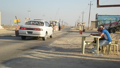 Fao Town - Police Checkpoint, Iraq