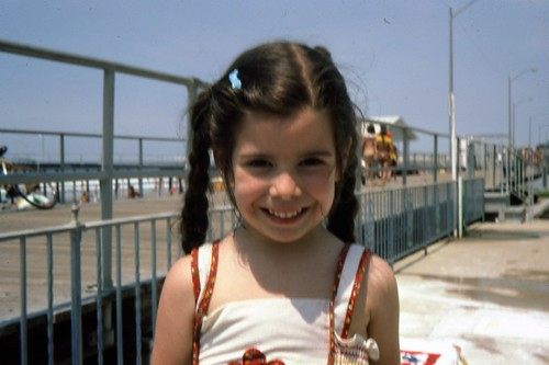Me at 6 years old on the Ocean City, NJ boardwalk.