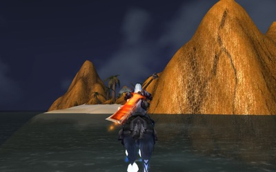 Approaching GM's Island