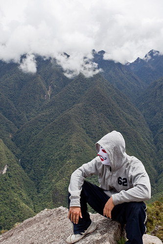Strange Guy at Wayna Picchu