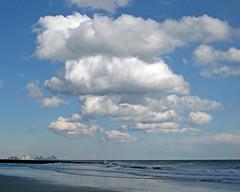 Atlantic City View 2: Ocean City NJ (eastcoaster48) Tags: ocean sea sky beach water clouds newjersey jersey