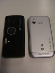 Camera - LG KM900 vs Sony Ericsson K850i