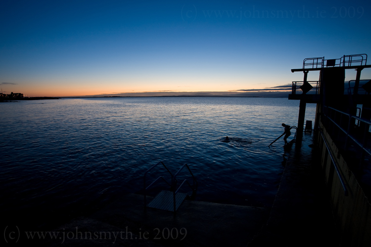 Salthill Swimmers at dawn