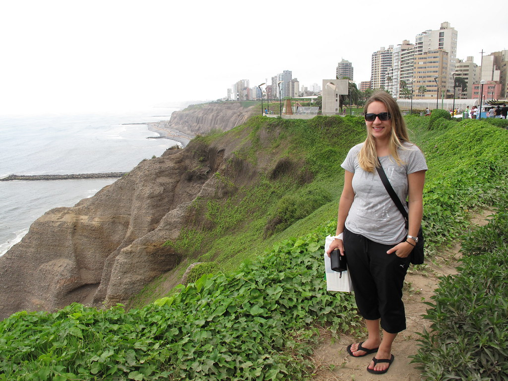 On the coast in Miraflores, Lima