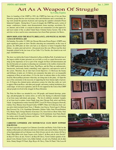 2008 Pinto Art Show