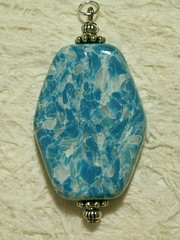 Turquartz ... my faux stone A30 (Sweet2Spicy) Tags: stone beads turquoise clay faux pendant polymer focal
