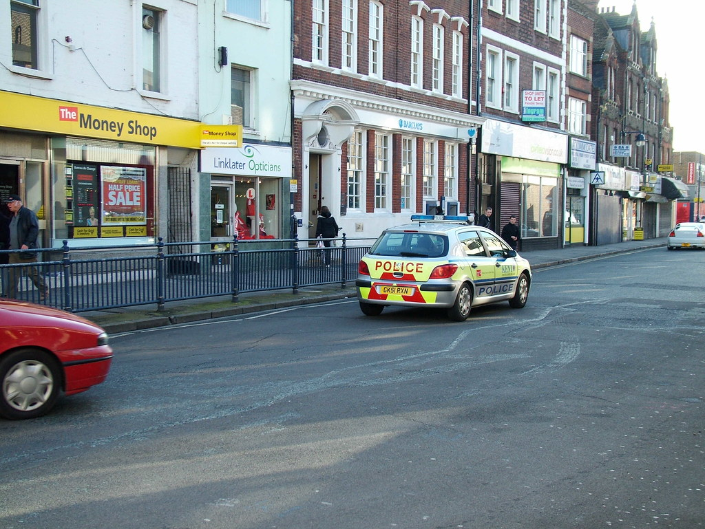 Kent Police Peugeot 307