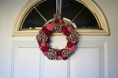 Yo yo wreath