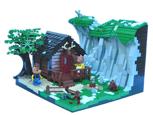 Bears Lodge By Slyowl Teen Fans Of Lego Blog