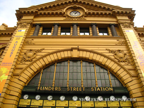findlers street station melbourne