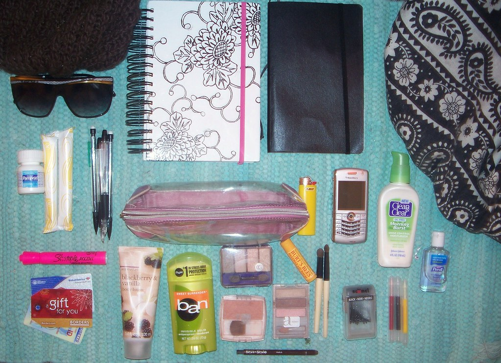 day 36: what's in my bag